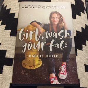 "NEW Book ""Girl Wash Your Face"""